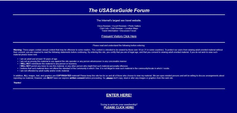 Usa sex guide review